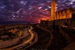 La noche en Lleida