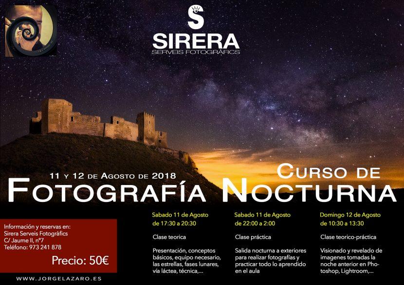Curso de fotografía nocturna - Jorge Lázaro