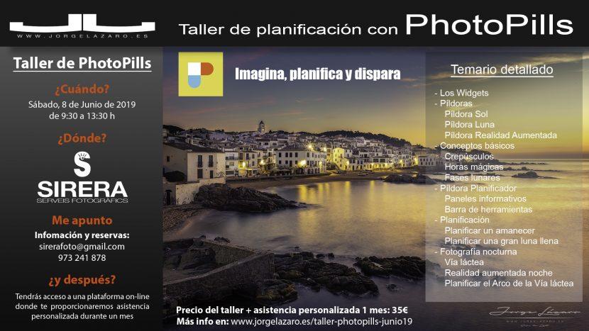 Taller de PhotoPills - Jorge Lázaro