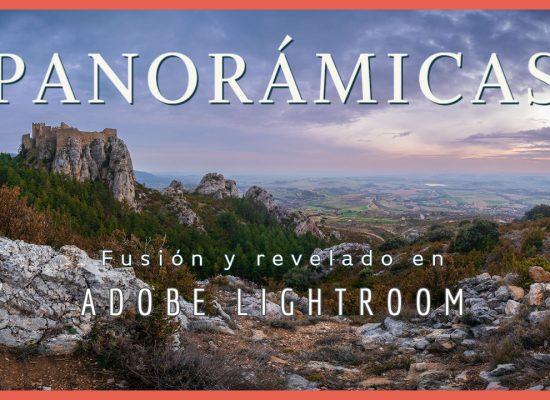 Panorámicas en lightroom - Jorge Lázaro