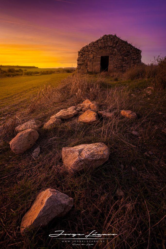 Cabaña de piedra seca - Jorge Lázaro