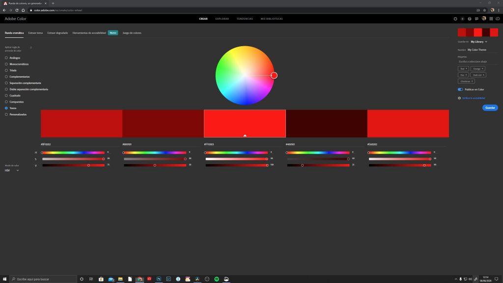 Adobe Color - Jorge Lázaro