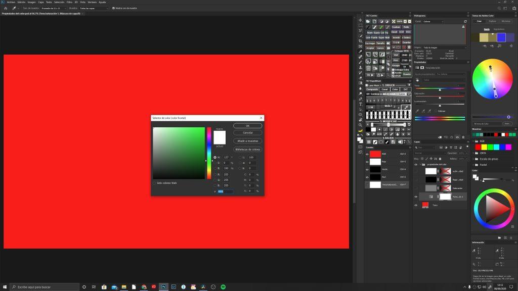 Selector de color de Photoshop - Jorge Lázaro
