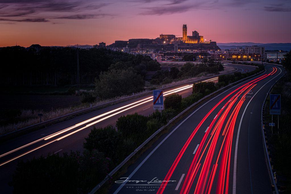 Autopista a Lleida - Jorge Lázaro