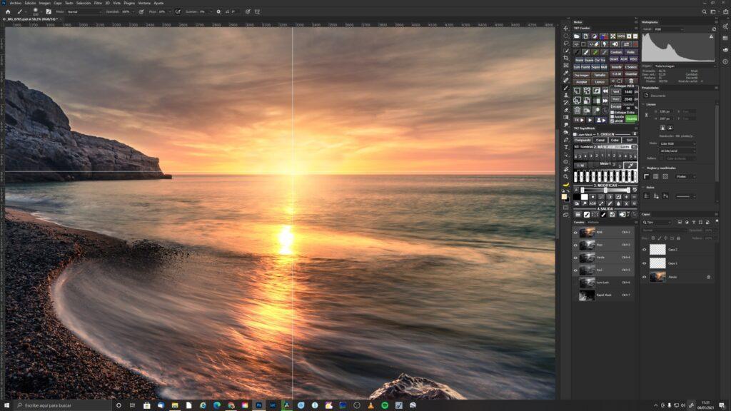 Creación de un nuevo Sol con Photoshop