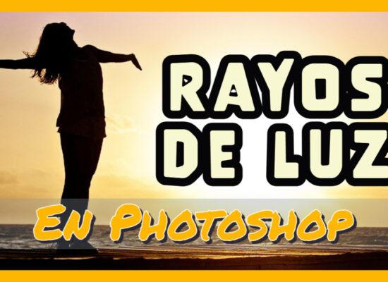 Rayos de luz en Photoshop