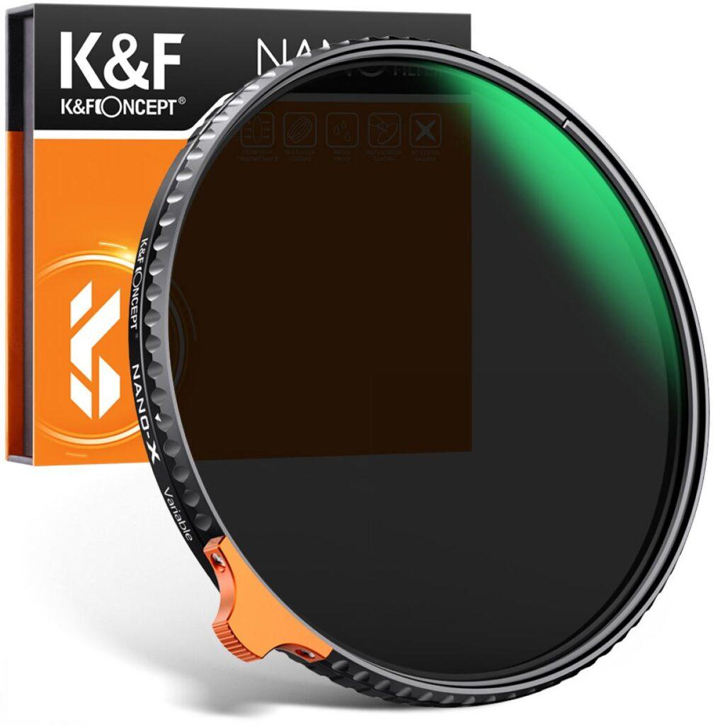 Filtro ND2-ND400 de K&F Concept