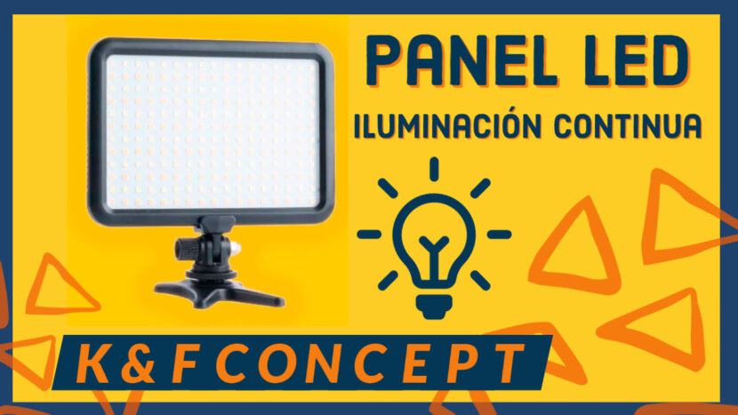 Panel LED K&F Concept