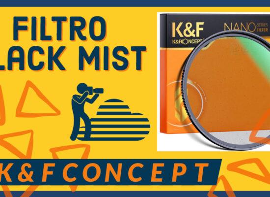 Filtro Black Mist de K&F Concept